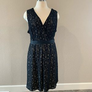 Lane Bryant 2X Lace Overlay Dress